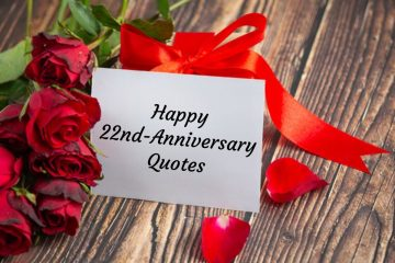 Happy 22nd-Anniversary Quotes